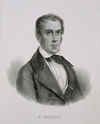 Accademia dei Georgofili - Marquis Cosimo Ridolfi, president of the academy 1842-1865