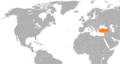 Costa Rica Turkey locator.png