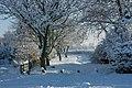 Cottingham Snuff Mill Lane winter snow - panoramio.jpg