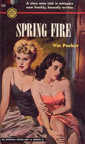 Marijane Meaker - Cover of Spring Fire - Vin Packer Marijane Meaker 1952