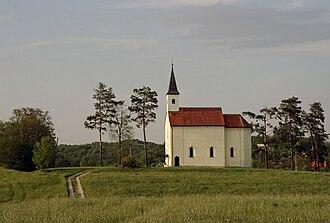 Sveta Helena, Zagreb County - St. Helen's church in Sveta Helena