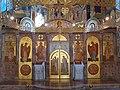 Crkva svetog Luke na Košutnjaku4, ikonostas.JPG
