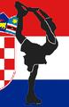 Croatia figure skater pictogram.png
