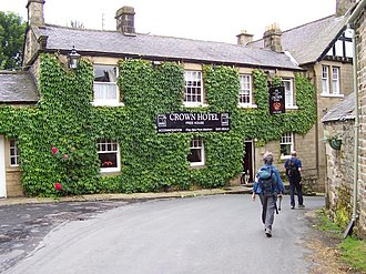 Lofthouse, North Yorkshire - Image: Crown Hotel Lofthouse geograph.org.uk 466757