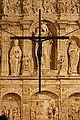 Crucifix - Monastery of Poblet - Catalonia 2014.JPG