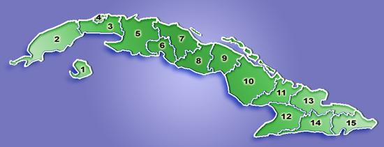 Provinciile Cubei