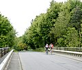 Cyclists over the M4 - geograph.org.uk - 1299204.jpg