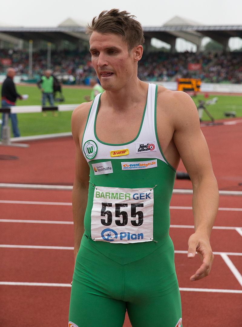 DLV Leichtathletik DM 2014 100m Finale Männer by Olaf Kosinsky -15.jpg