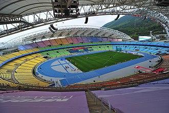 Daegu Stadium - Image: Daegu.Stadium.origin al.2167