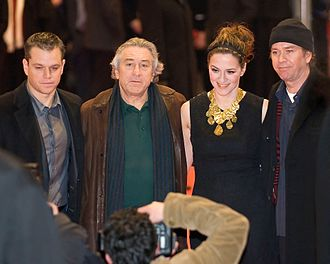The Good Shepherd (film) - Damon, De Niro, Gedeck and Hutton at the February 2007 premiere of the film in Berlin