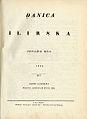 Danica Ilirska 1835.jpg