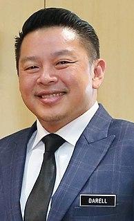 Darell Leiking Malaysian politician