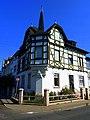 Das Fachwerkhaus in der Poststraße wurde um 1900 errichtet - panoramio.jpg