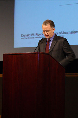 David S. Rohde - David Rohde giving a lecture to Journalism students.