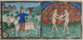 De Grey Hours f.5.r May- falconer hunting; Gemini.png