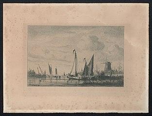De Schelde vóór Antwerpen