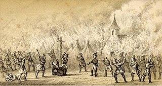 Battle of Norridgewock Massacre of Wabanaki people at Norridgewock, Maine, during Father Rales War in 1724