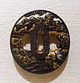 Death of Taira Atsumori, tsuba, Japan, Soten II, shakudo (gold and copper alloy), gold - Peabody Essex Museum - DSC07450.jpg