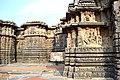 Decorated outer walls Hoysaleswara Temple Halebid.jpg