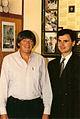 Dejan Stojanović and Prince Nicholas Petrović Njegoš of Montenegro.jpg