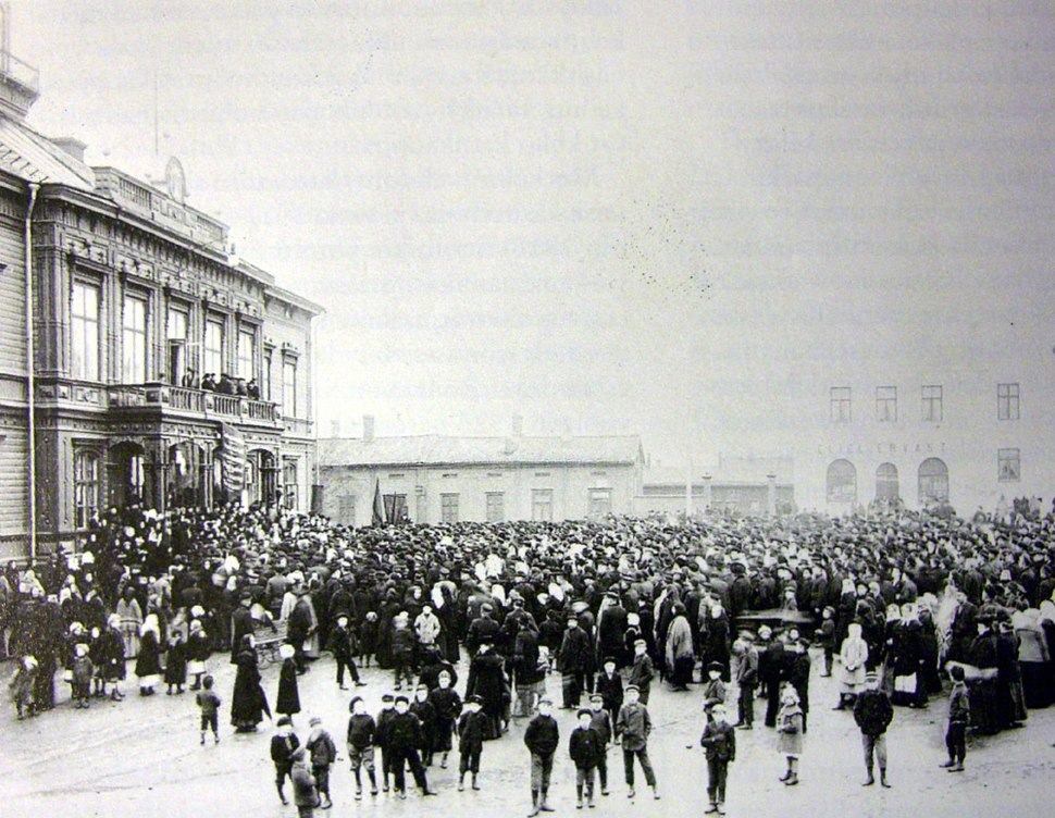 Demonstration Pietarsaari 1905