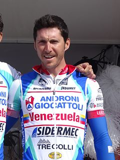 Manuel Belletti Italian road bicycle racer