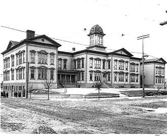 Seattle Public Schools - Denny School, 1905