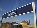 Deptford station signage.JPG