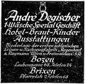 Der Landsmann Bozen DEGISCHER 14 Maerz 1925.png