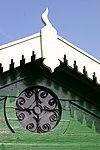 detail baarhuisje sint-barnabaskerk, haastrecht