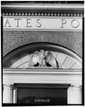 Detail of Cornice - Winsted Post Office, 328 Main Street (U.S. Route 44), Winsted, Litchfield County, CT HABS CONN,3-WIN,3-3.tif