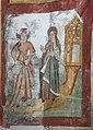 Detail uit de legende van de Heilige Genoveva van Parijs in de zuidelijke transeptarm van de Sint-Genovevakerk van Zepperen - 375714 - onroerenderfgoed.jpg