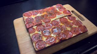 Detroit-style pizza Style of pizza developed in Detroit, Michigan