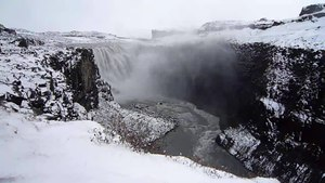 File:Dettifoss waterfall in Vatnajokull National Park, Iceland.webm