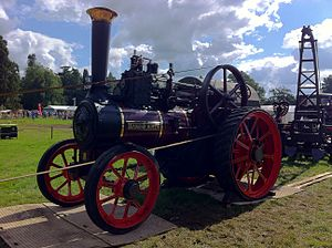 Traction engine - 1897 Burrell Diamond Queen traction engine