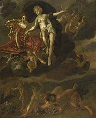 Diana and Virtus Punish Venus and Bacchus