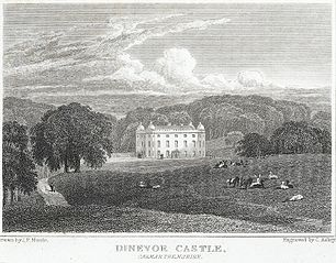 Dinevor Castle. Carmarthenshire