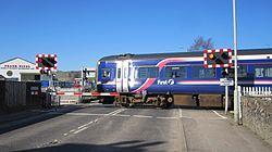 Dingwall No. 2 level crossing (13175734463).jpg