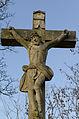 Dittelbrunn, Holzhausen, Friedhof, Kreuzigungsgruppe, 002.jpg
