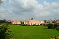 Diwan-i-Am and Tomb of Pari Bibi with Garden - North-western View - Lalbagh Fort Complex - Dhaka 2015-05-31 2731.JPG