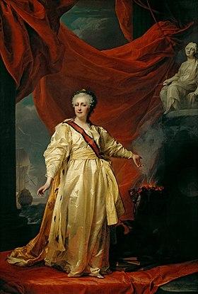 Екатерина ii Википедия