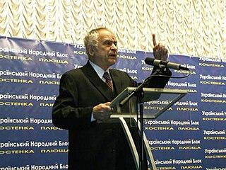 Dmytro Pavlychko Ukrainian writer and dissident