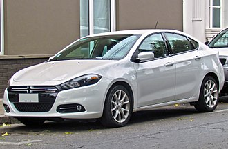 Compact car - Dodge Dart.