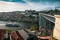 Dom Luís I Bridge Over the Duoro River in Porto (27991083857).jpg