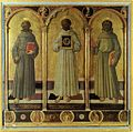 Domenico di Michelino - Three Franciscan Saints - WGA06420.jpg