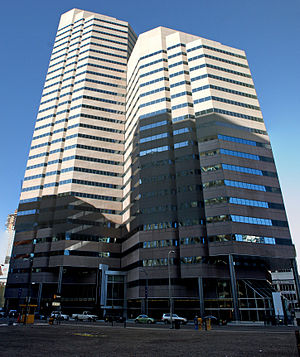 Dominion Plaza - The Dominion Plaza office buildings in Denver, Colorado