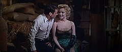 Murray e Marilyn Monroe in una scena del film