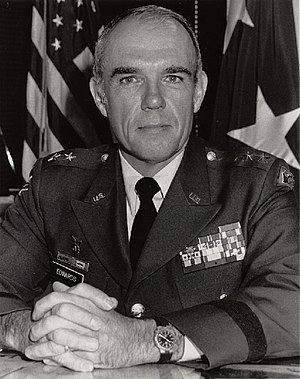 Donald E. Edwards - Major General Donald E. Edwards, Vermont Adjutant General, 1981-1997