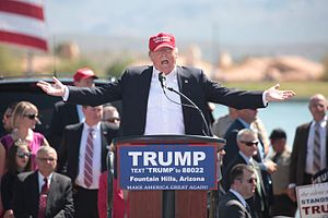 Insane Clown President - Donald Trump on the campaign trail in 2016