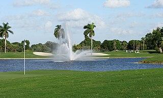 Trump National Doral Miami Golf resort in south Florida